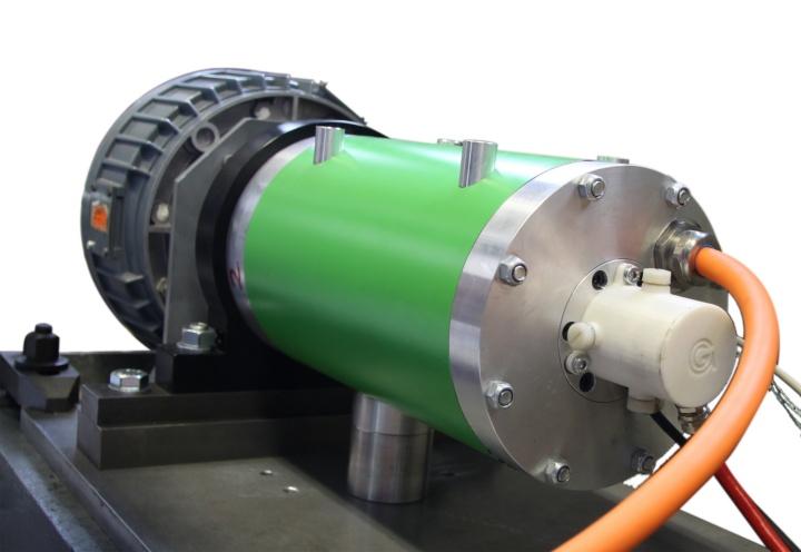 Prototyp einer fremderregten Synchronmaschine (c)