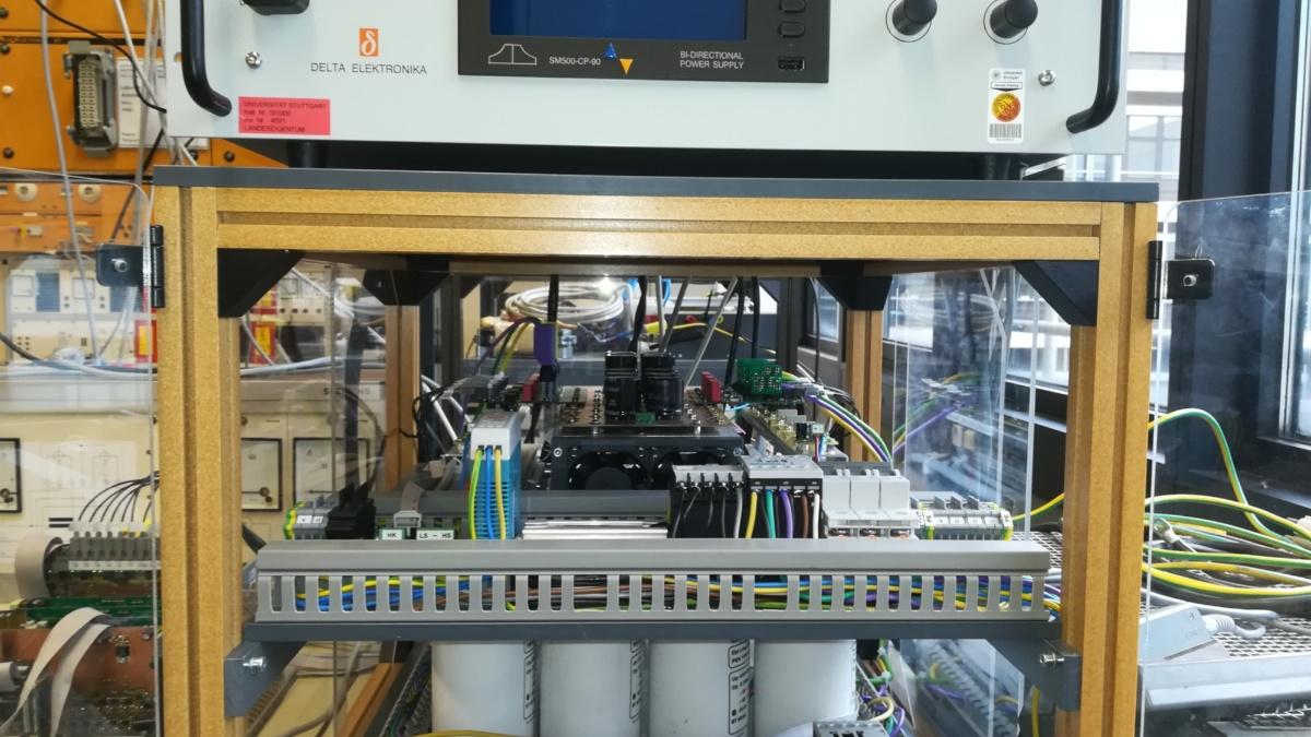 Elektrolysegleichrichter Paralleltopologie (c)