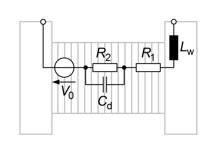 Elektrisches Ersatzschaltbild eines Elektrolyseurs (c)