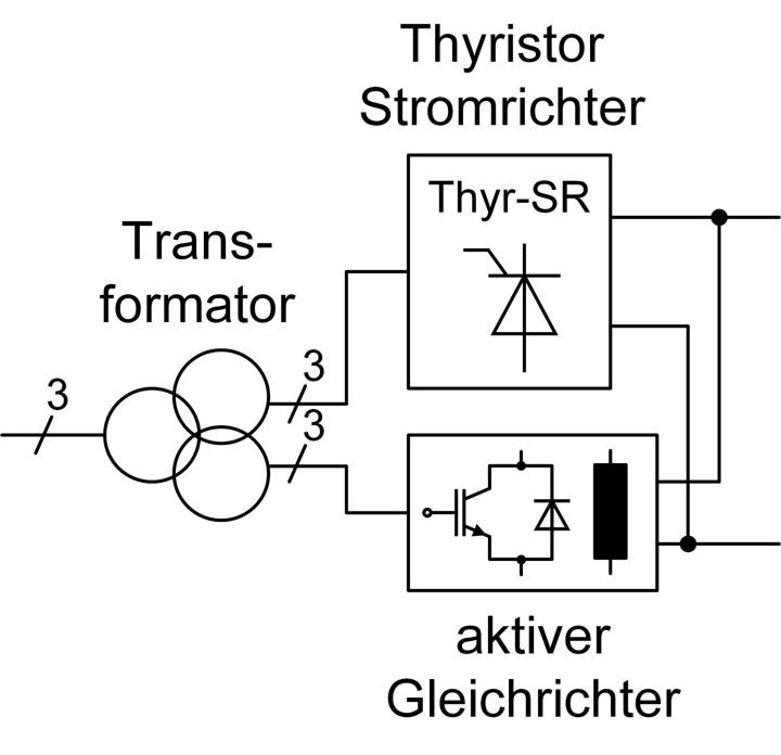 Beispiel für Gleichrichteranordnung (c)