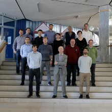 The whole team in 2018